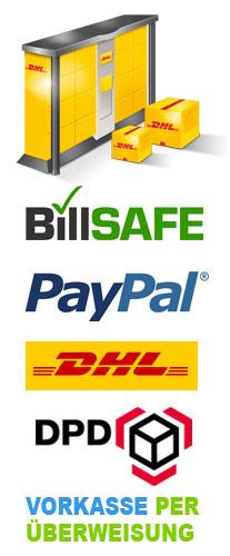 Versand Zahlung